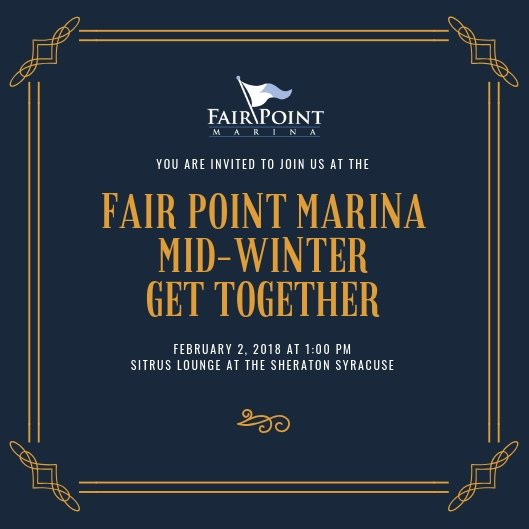 Fair Point Marina Mid-Winter Get Together